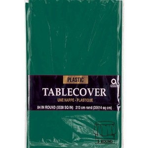 Green Table Cover Round