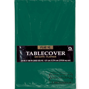 Green Table Cover Rectangular