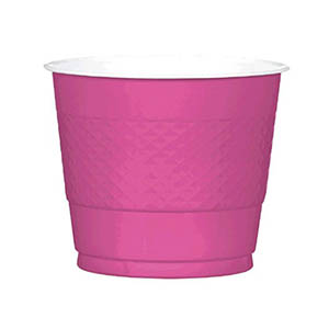Magenta Cups 9oz
