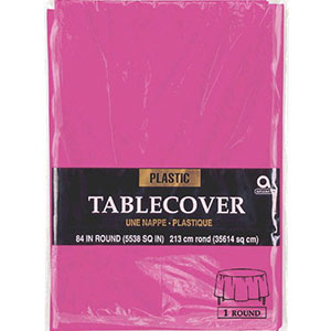 Magenta Table Cover Round