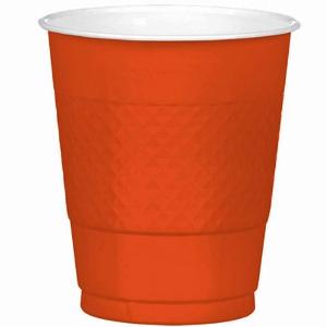 Orange Cups 12oz