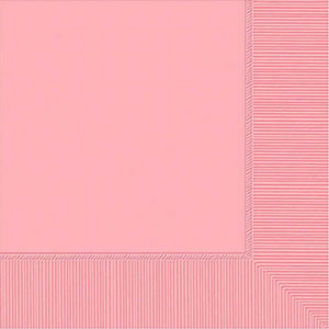Pink Beverage Napkins