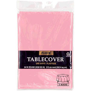 Pink Table Cover Round