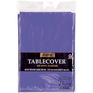 Purple Table Cover Round
