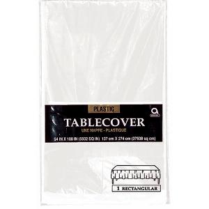 White Table Cover Rectangular