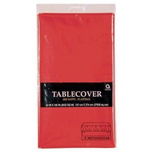 Red Table Cover Rectangular
