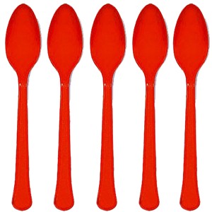 Red Spoons