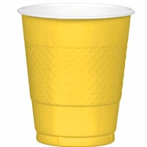 Yellow Cups 12oz