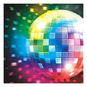 Disco Beverage Napkins