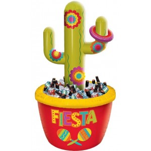 Fiesta Cactus Inflatable Cooler