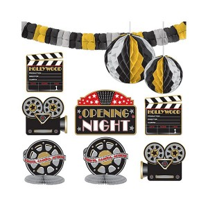 Hollywood Decorating Kit 10ct