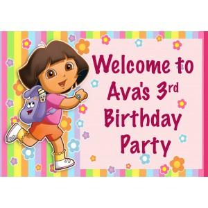 Dora Welcome Sign