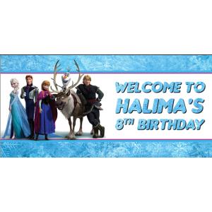 Disney Frozen Welcome Sign