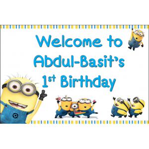 Minion Welcome Sign