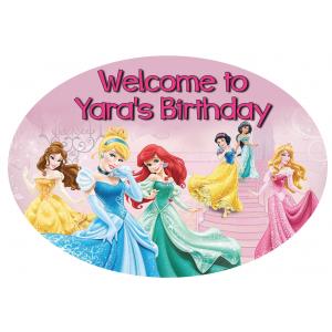 Princess Welcome Sign